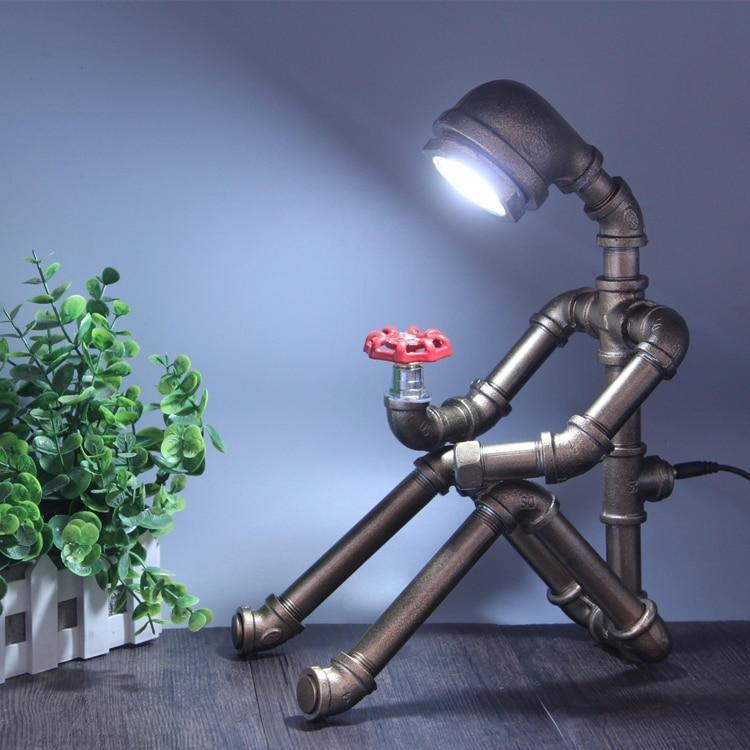 Innovative Table Lamp That Has The Shape Of A Man