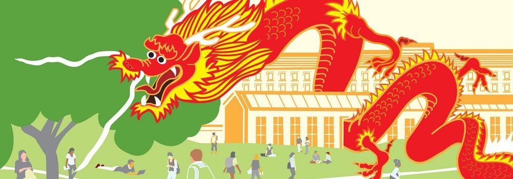 China Money Floods U.S. Universities