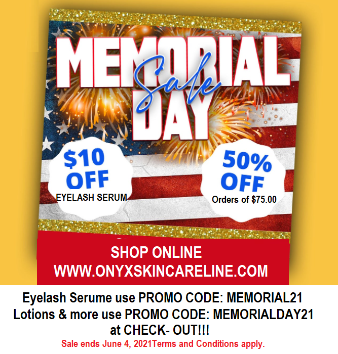 CELEBRATING MEMORIAL DAY and YOU!